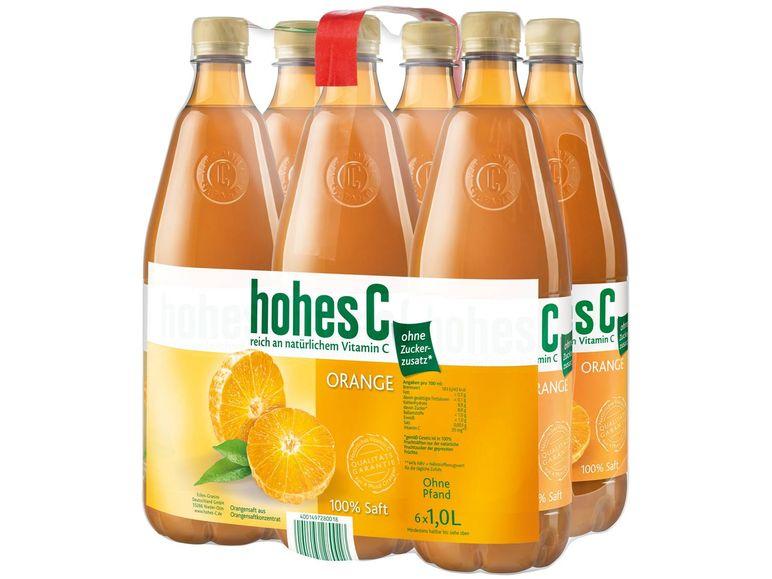 Hohes C [6x 1L] für 1,49€ VK-frei bei Lidl online!