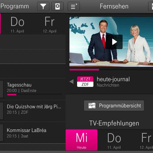 Telekom Media Receiver SAT für den Empfang von Entertain im Magenta Zuhause Vertrag für 39,90 € - [B-Ware]