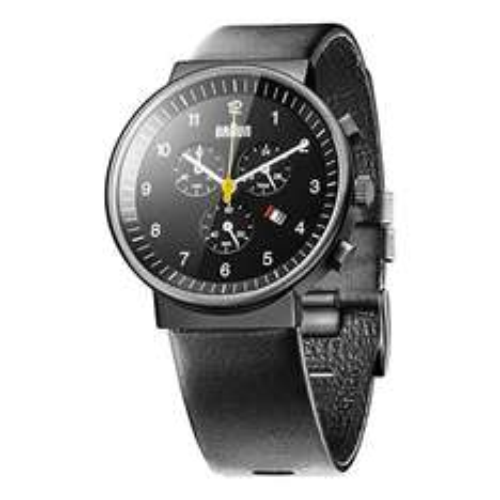 [Amazon oder Conrad] Braun Herren-Armbanduhr XL BN0035BKBKG Chronograph Leder