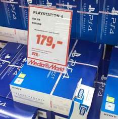 PlayStation 4 500GB refurbished [MediaMarkt Bochum]