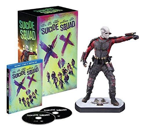 [amazon.ca] Suicide Squad [Blu-Ray + DVD + UV] (Bilingual) with Amazon Exclusive Deadshot Figurine ~54€