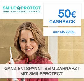 [Shoop] 50€ Cashback & 50% Rabatt auf Philips Zahnbürsten bei Abschluss einer SmileProtect-Zahnversicherung
