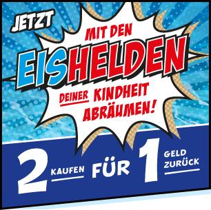 Schöller Eishelden Multipack 2 für 1 gratis