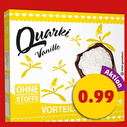 Lakomka Quarki 3er versch. Sorten für 0,49€ bei Penny bis Samstag (Angebot+Scondoo) [max. 30 Quarkies pro Account]