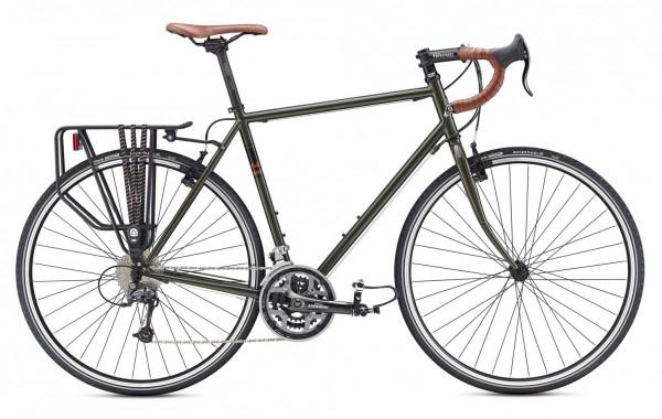 Tourenrad mit schickem Stahlrahmen
