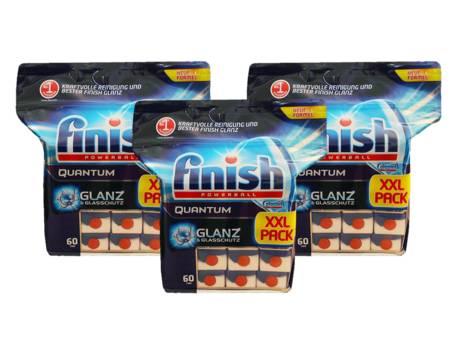 180 Stück Calgonit Finish Powerball Quantum Spülmaschinen Tabs für 24,95€ statt 35€