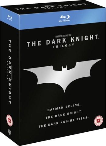 Batman: The Dark Knight Trilogie (Blu-ray Box) bei Zavvi für 12,64€