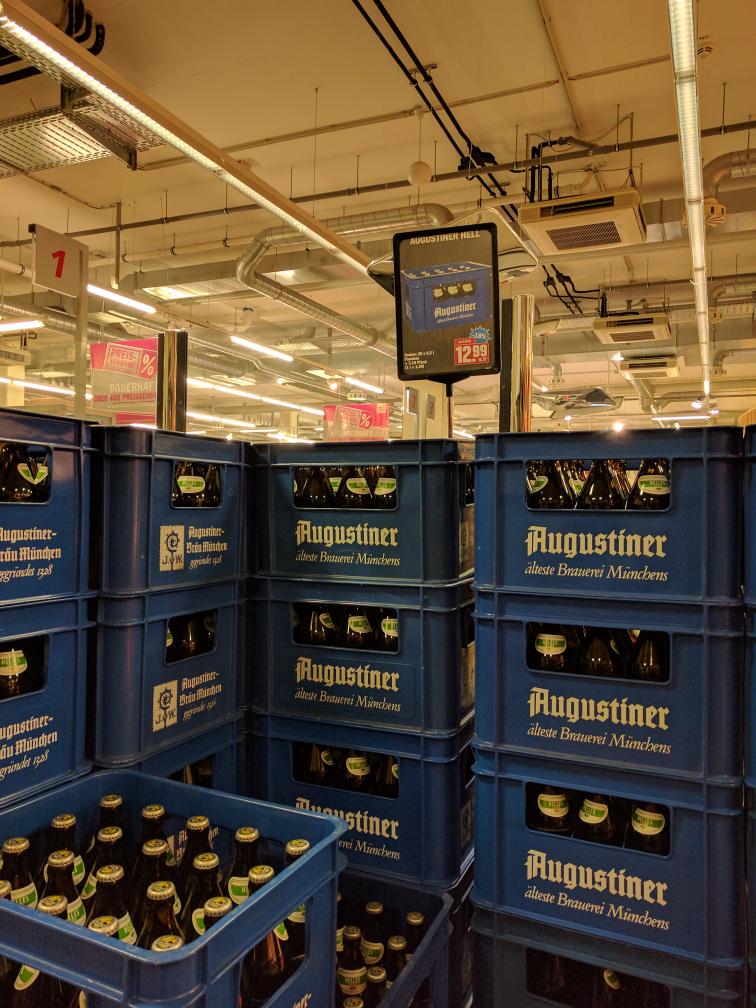 [Lokal München HIT Markt] Augustiner Kasten für 12,99€ + 3,10€ Pfand = 16,09€