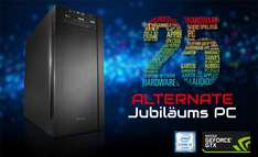Alternate Jubiläums-PC - i5-7600K, GTX 1060 6GB, Z270 MB, 2TB HDD, 275GB SSD, Win 10 - 1.199,99€ @ Alternate.de