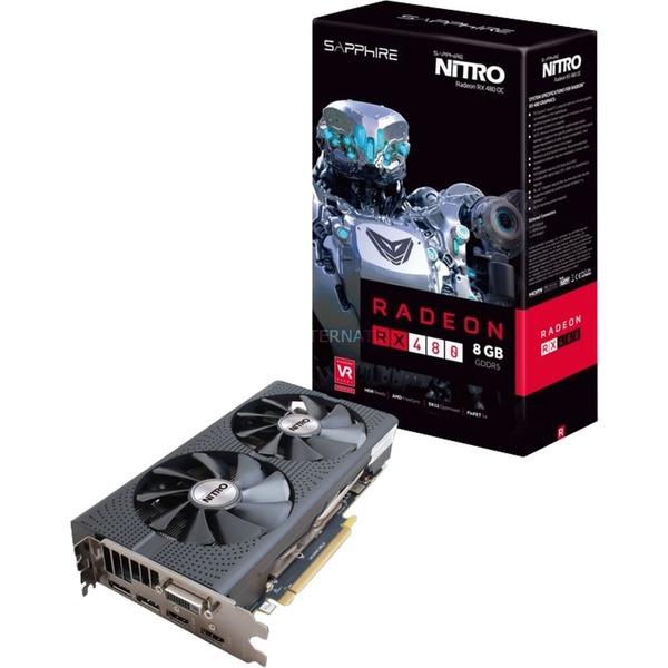 [Alternate 25J] AMD Radeon RX 480 Nitro von Sapphire für 224,99€