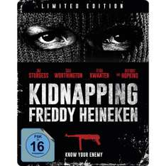 Kidnapping Freddy Heineken (Limited Steelbook) (Blu-ray) für 4,99€ (Müller)