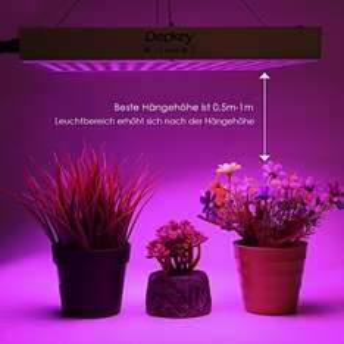 Pflanzenlampe mit 225 LEDs