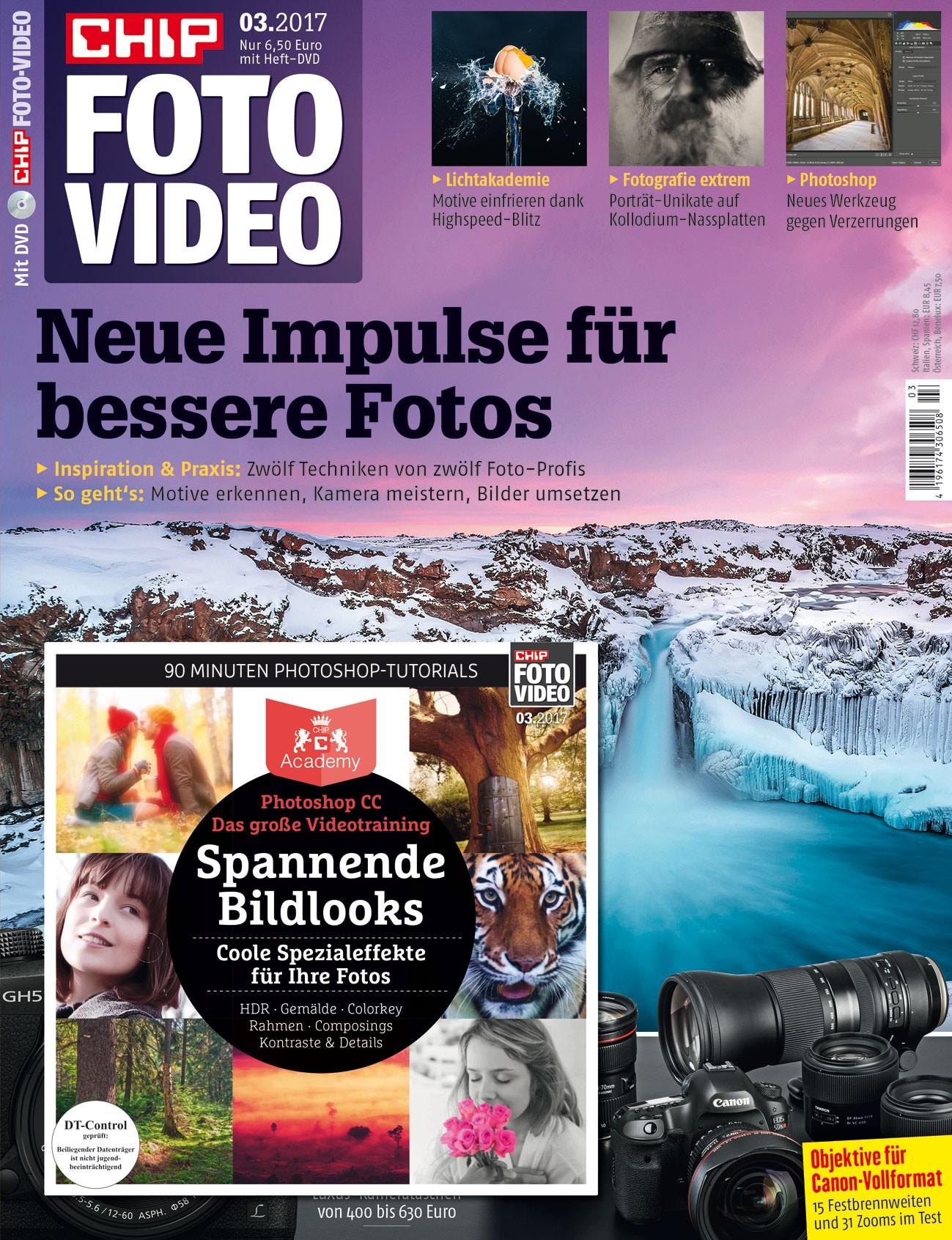 6 x CHIP FOTO-VIDEO mit DVD für effektiv 6,90€ durch 30 € ShoppingBON (inkl. Amazon)