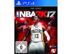 NBA 2K17 (PlayStation 4) für 27,99€ (Saturn)