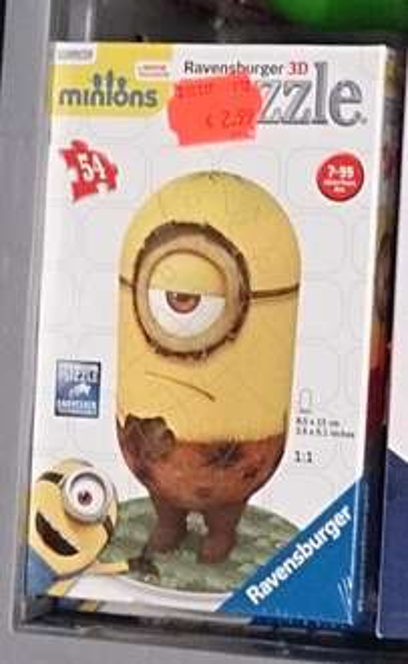 """[kik, lokal 61118 Bad Vilbel] Ravensburger Minions-3D-Puzzle """"Cro Minion"""""""