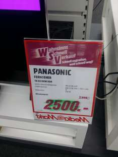[Lokal MM Duisburg]Panasonic 65dxw904