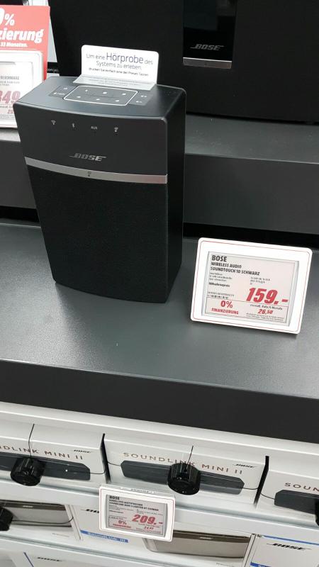 [MM Bad Kreuznach] Bose Soundtouch 10 für 159€