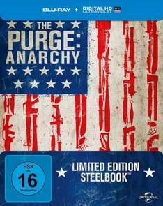 The Purge - Anarchy Steelbook (Blu-ray inkl. Digital Ultraviolet) für 9,76€ ink. VSK (Media-Dealer)