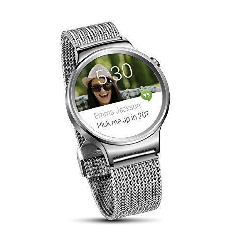 Huawei Watch Classic Netzarmband silber für 320,89€ [Amazon.fr]