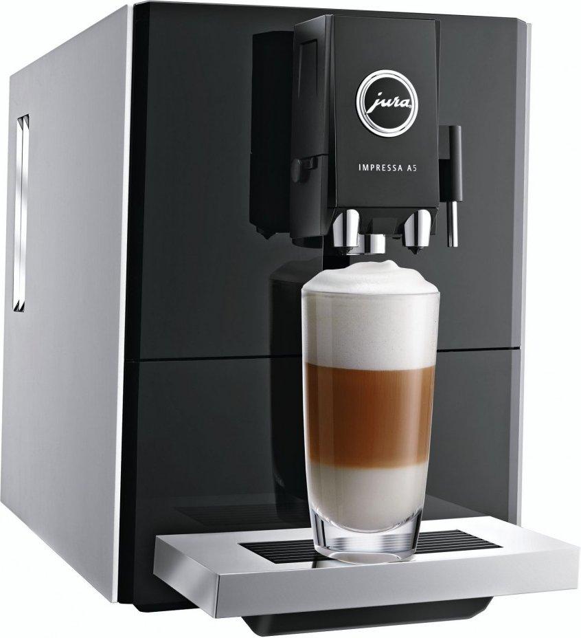 [Mediamarkt] JURA Impressa A5 One Touch rot, Kaffeevollautomaten mit Milchaufschaumdüse für 599,-€ Versandkostenfrei