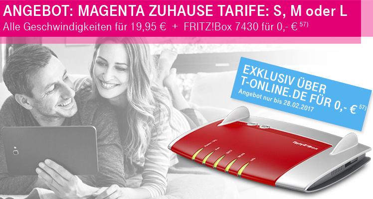 Fritzbox 7430 gratis bei Telekom DSL Neuvertrag
