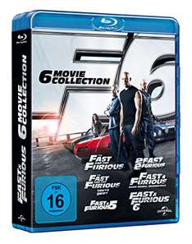 [amazon.de] Fast & Furious 1-6 [Blu-ray] 14,99€