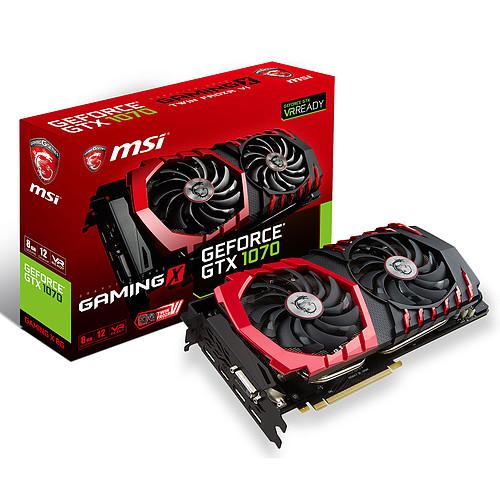 [Frankreich u. Belgien]  MSI GeForce GTX 1070 GAMING X 8G + Gamecode für 399,95 Euro