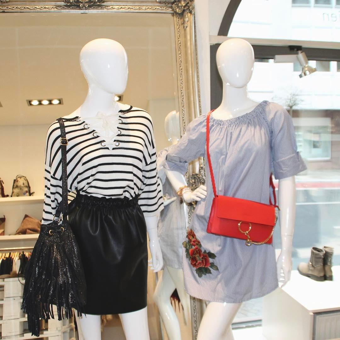 gestreifter Damenpullover von Plaza für die Übergangszeit für 19,- € statt 45,- €