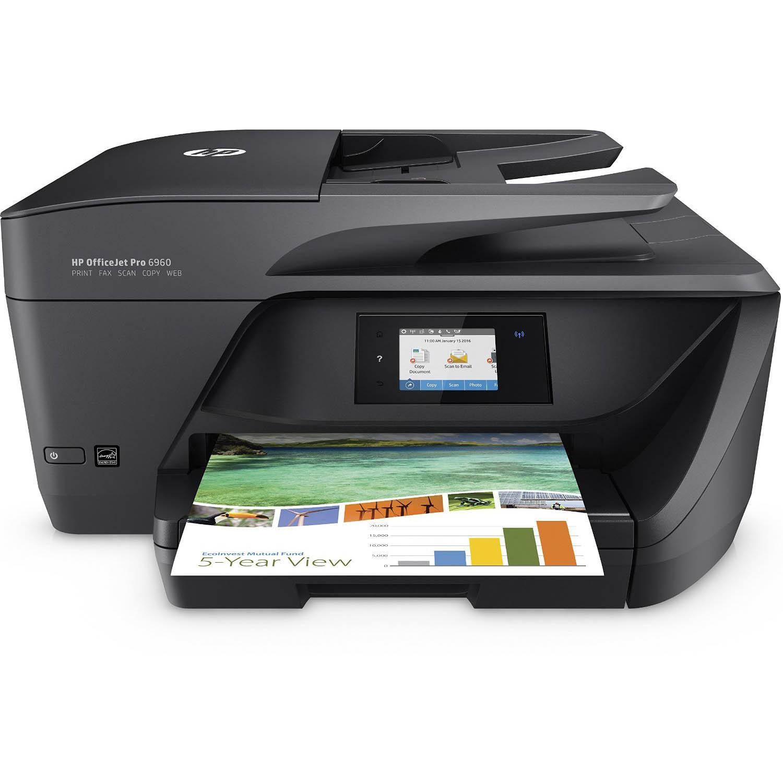 [notebooksbilliger.de] HP OfficeJet Pro 6960 für 89,– EUR – Multifunktionsdrucker mit Duplex, ADF, WLAN