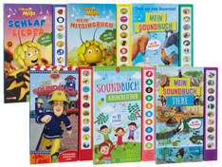 Kinder-Soundbücher (z.B. Biene Maja, Feuerwehrmann Sam, etc)