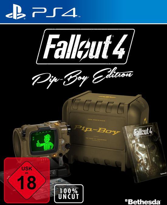 [Gamestop online] Fallout 4 (100% Uncut) Pip-Boy-Edition für PS4 für 34,96 € inkl. Versand