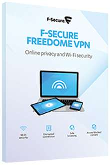 F-Secure Freedome VPN 3 Geräte / 12 Monate / PC, MAC, Android, iOS
