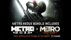 Metro Redux Bundle für 5,99€ [Bundle Stars] [Steam]