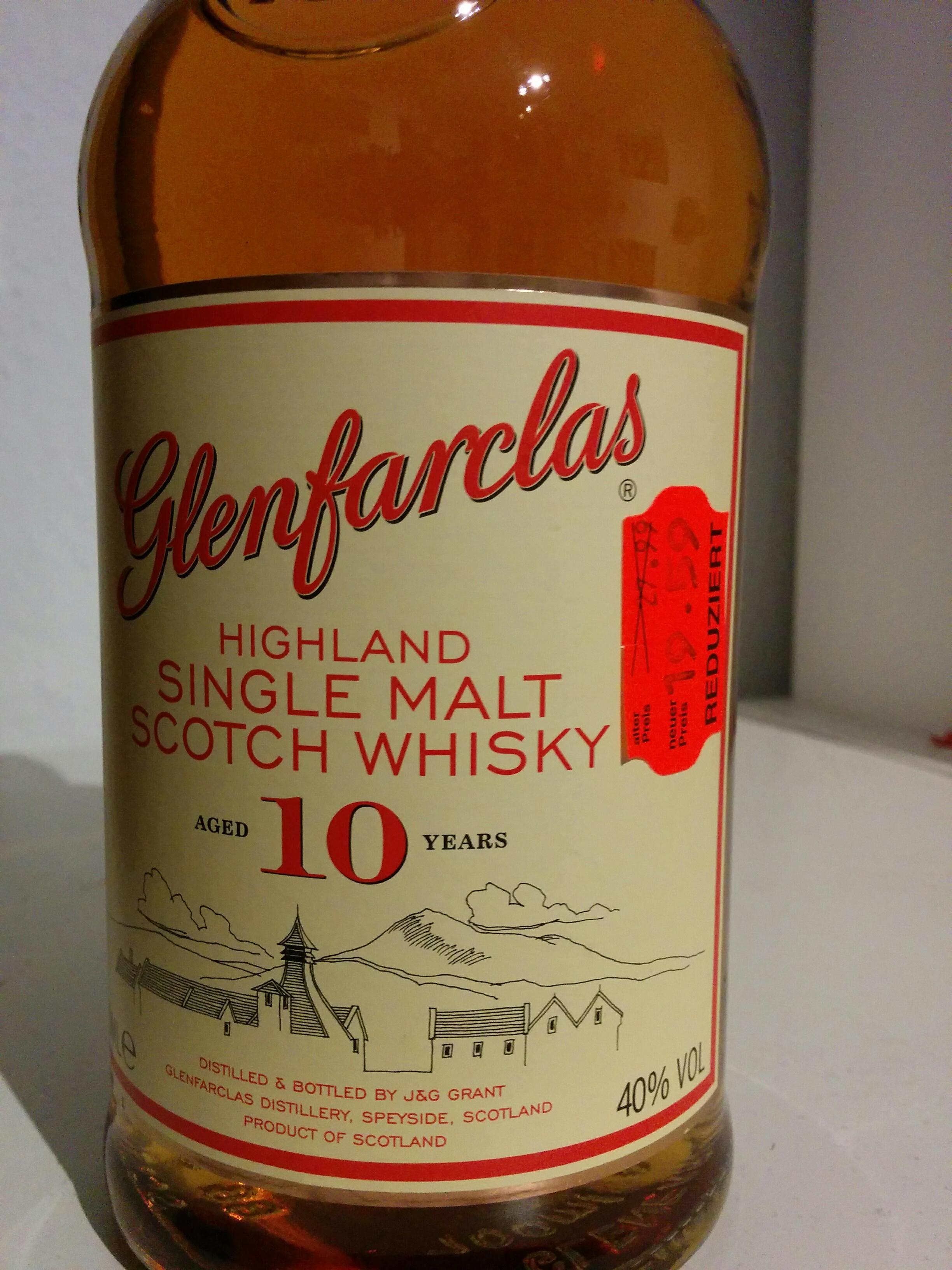 [Lokal Ulm] Kaufland Glenfarclas 10 Jahre Highland Malt Whisky