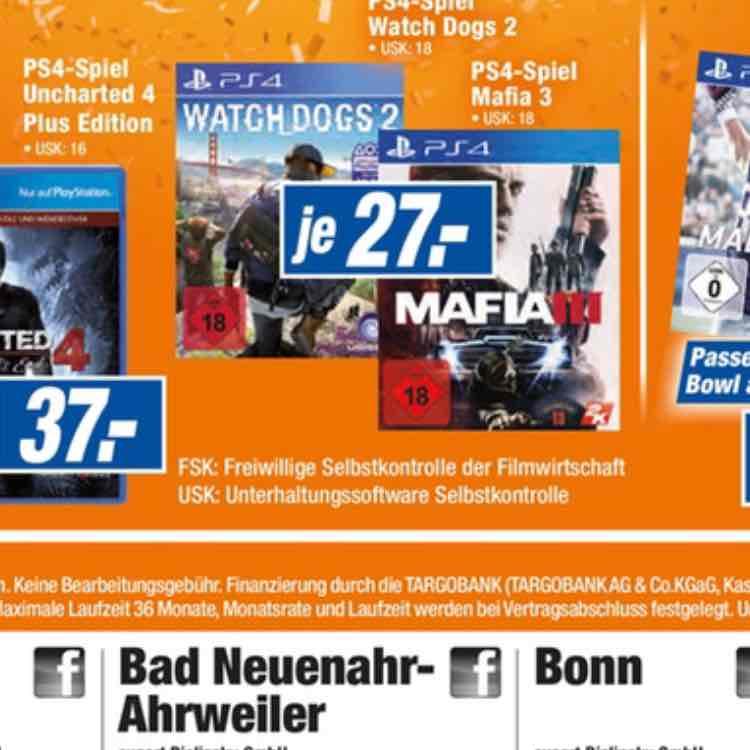 [Lokal Bonn, Bad Neuenahr-Ahrweiler expert Bielinsky] Watch_Dogs 2 (PS4) für 27€