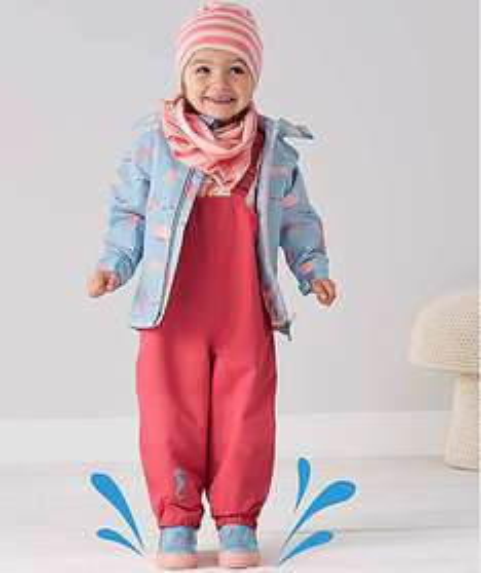 Neue Kollektion für Kids mit 15% Rabatt bei [Tchibo] Regenjacke für 21,20€, Softshell-Overall für 33,96€