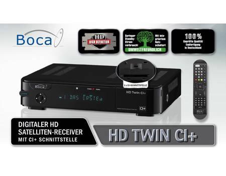 BOCA HD Twin CI+, Satelliten-TV-Empfänger, HDD-Recorder, 1 TB für 154,95 € @ Allyouneed (Satchef)