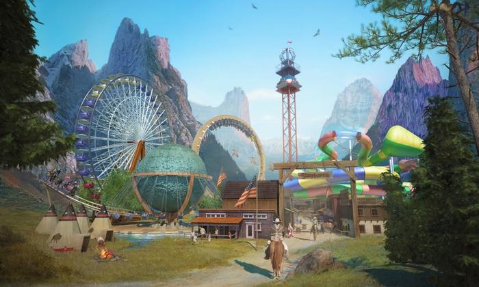 Jahreskarte FLATRATE Freizeitpark (Movie Park, Slagharen, Bobbejaanland)