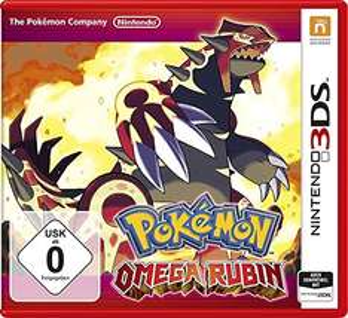 Pokemon Omega Rubin Nintendo 3DS/2DS [Amazon.de]