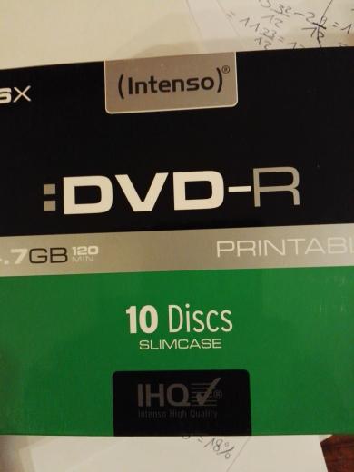 10er Pack DVD-Rohlinge 0,88 Euro / Kaufland Lollar