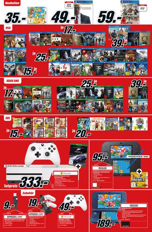 [Lokal Berlin] Media Markt - Versch. PS4 und XBOX  ONE Spiele für 15€ und 17€ - Fallout 4, The Division, Diablo III, DOOM, Homefront, LEGO Marvel