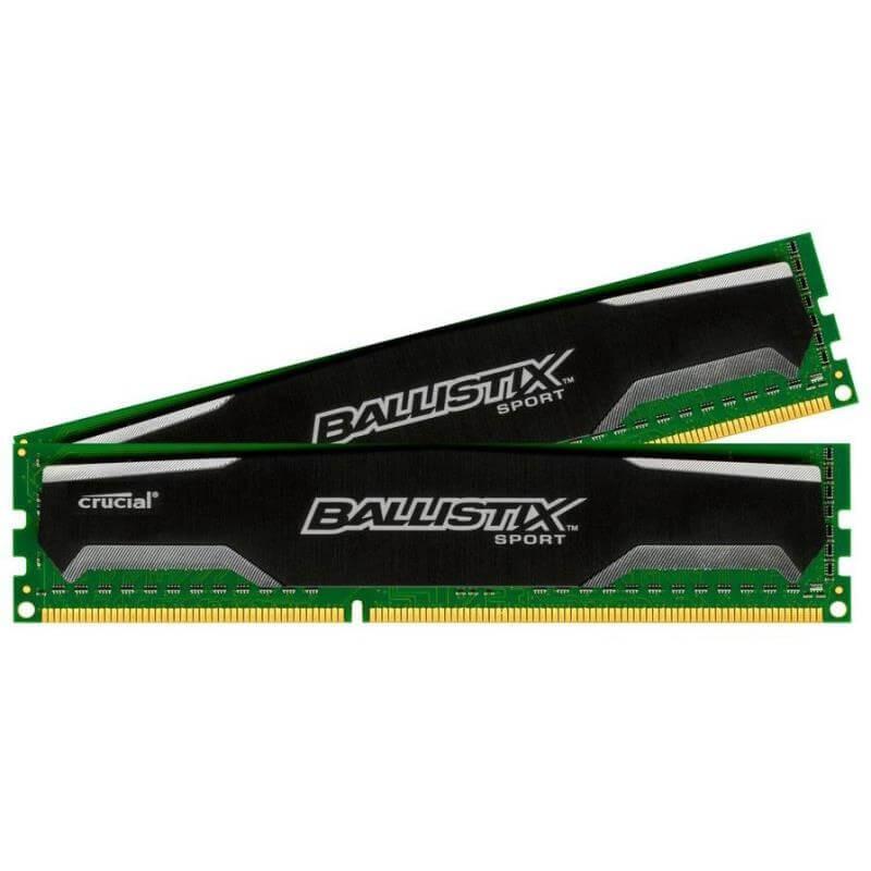 Crucial Ballistix Sport - DDR3 - 2 x 4 GB Arbeitsspeicher [Orimo]
