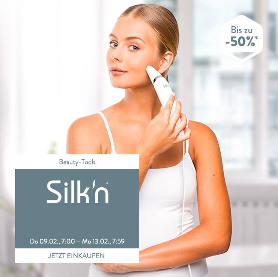 Silk'n Produkte bis zu 50% reduziert bei brands4friends, z.B. Silk'n ReVit Essential für 39,99€
