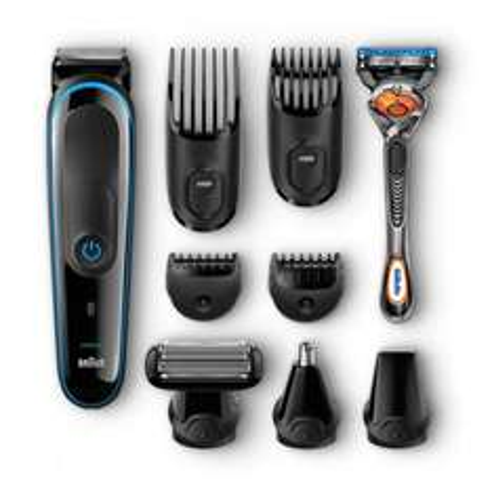 [Redcoon] Braun Multigroomer 9-in-1 Bartschneider MGK3080, Rasierer, Trimmer,Bodygroomer mit Gillette Flexball