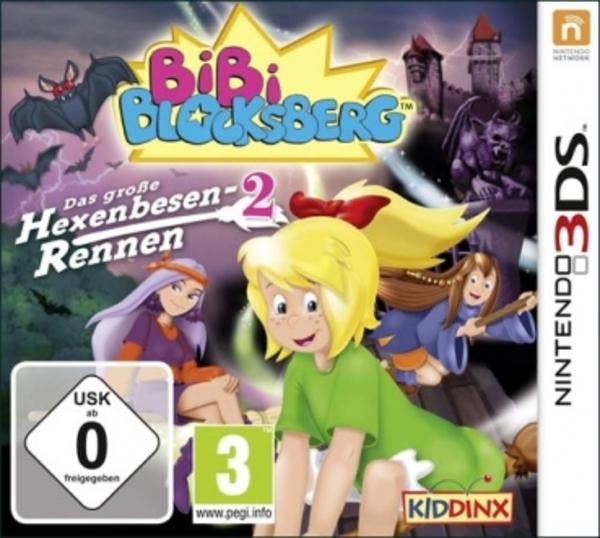 [Idee&Spiel] Bibi Blocksberg: Das große Hexenbesen-Rennen 2 für Nintendo 3DS