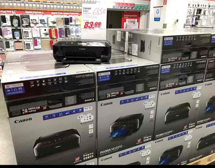Canon MG 6850 3 in 1 Multifunktionsdrucker im Media Markt Köln Hohe Str. und auf eBay