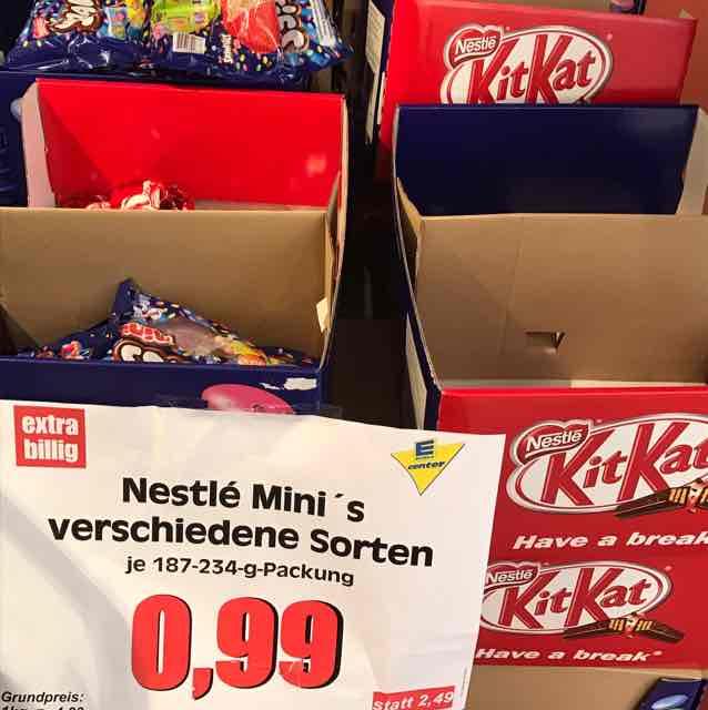 Nestle Minis für 99 Cent - Edeka Berlin (Tempelhofer Hafen)