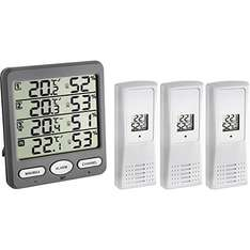 TFA Dostmann Funk-Thermo-Hygrometer, Klima-Monitor, € 43,01 mit Prime