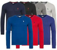 U.S. POLO ASSN. V-Neck Sweater Herren Pullover - Outlet46 über ebay