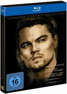 Leonardo Di Caprio Collection (Blu ray) für 9,65€ inkl. VSK (Alphamovies.de)